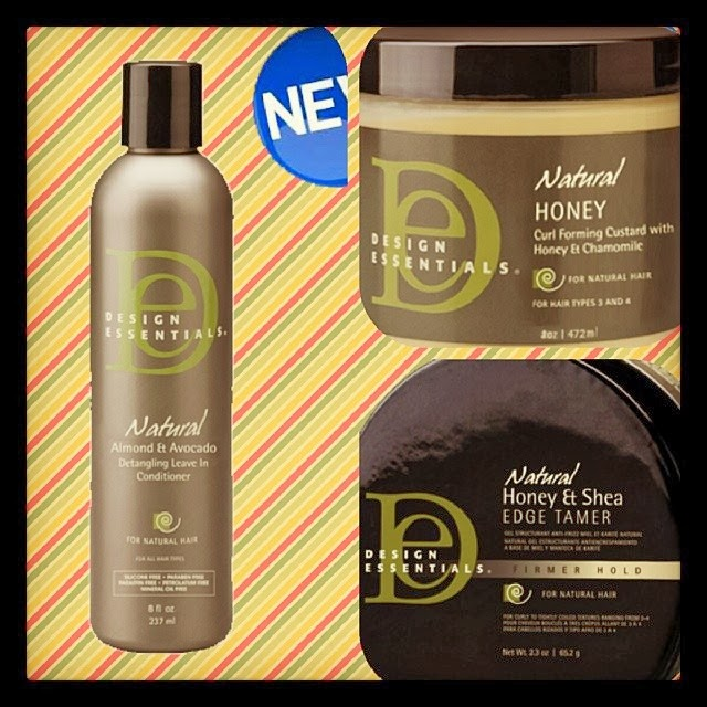 Natural Hair Product Review Design Essentials Natural Almond And